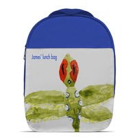 Blue Lunch Bag