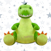 Personalised Dinosaur Teddy Bear