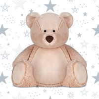 Personalised Embroidered Soft Toy Teddy Bear