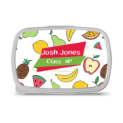 Lunch Box Banana and Apple