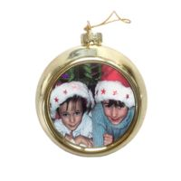 Personalised Christmas Photo Bauble Thumbnail