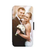 Personalised Custom Faux Leather iPhone Case Thumbnail