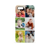Photo Collage Personalised Custom hard iPhone Plus Case Cover Thumbnail