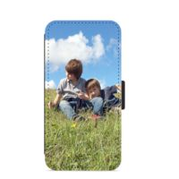 Collage - Personalised Leather iPhone  Case Thumbnail